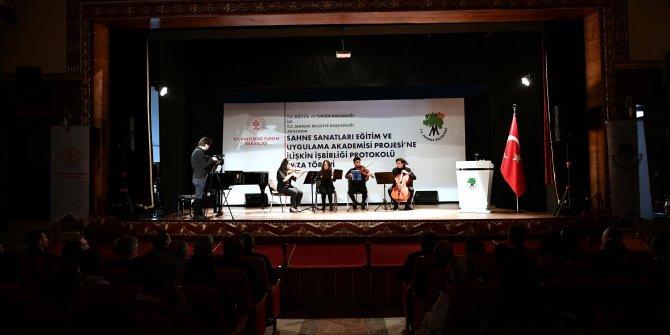 Mamak'ta sahne sanatları akademisi açılıyor