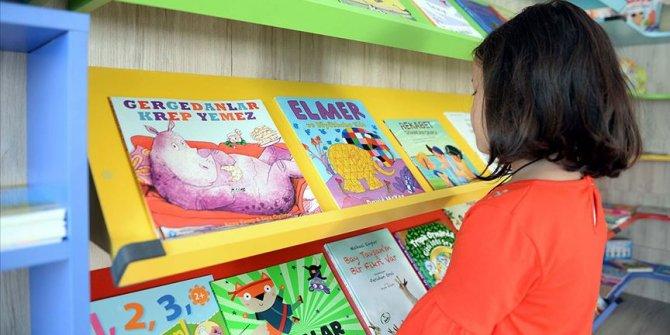 Başkentin ilk 'Bebek Kütüphanesi' gün sayıyor