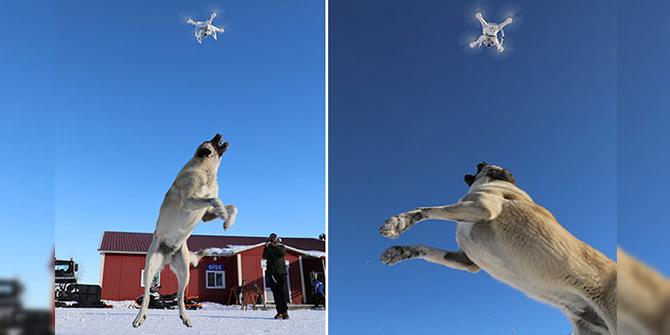 'Bulut'un drone ile imtihanı