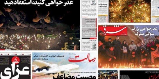 İran medyası hükümetin istifasını istiyor