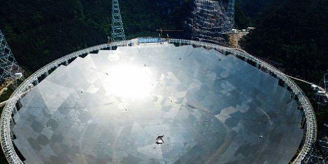 Dünyanın en büyük radyo teleskobu, Çin'de tamamlandı