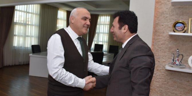 Kızılcahamam Belediye Başkanı'na ziyaret