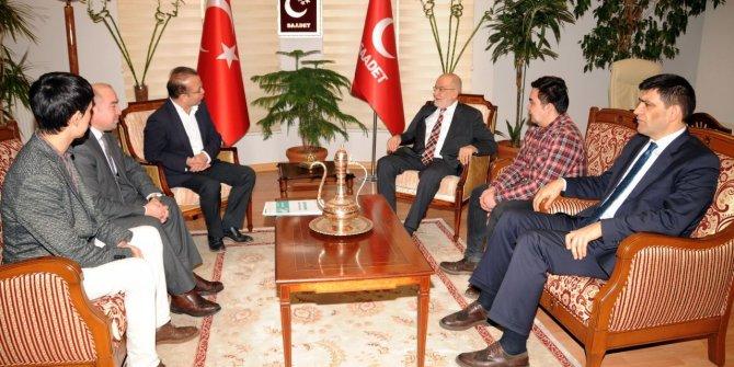 """SP'ye """"Doğu Türkistan'da zulüm var"""" raporu"""