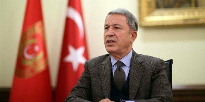 Milli Savunma Bakanı Akar: Çabamız akan kanın durmasıdır