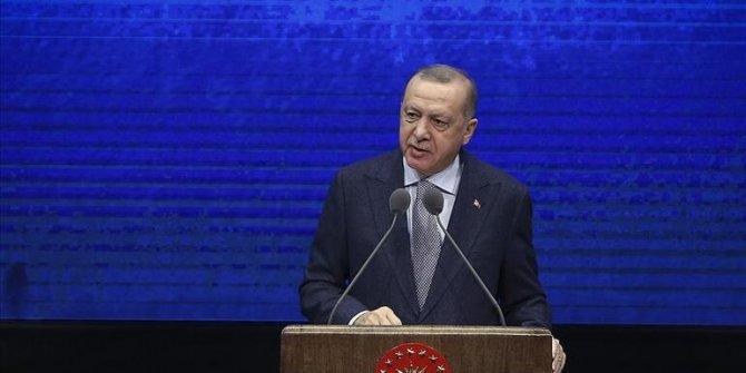 Erdoğan: Yeni bir şahlanış döneminin kapılarını açıyoruz