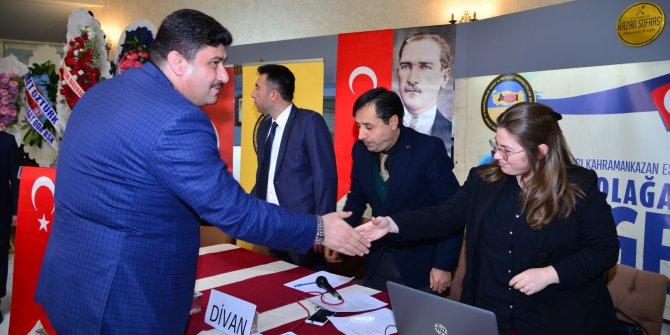 Kahramankazan Belediye Başkanı Serhat Oğuz esnaflarla buluştu