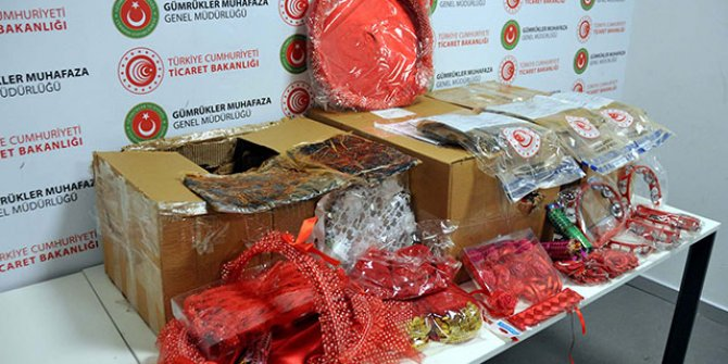 İstanbul Havalimanı'nda kına malzemesi kolisinden uyuşturucu çıktı
