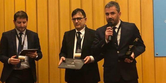 """Pursaklar Belediyesi'ne Fransa'da """"İdeal Kent"""" ödülü"""