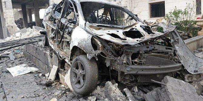 Rus jetleri İdlib'i vurdu: 12 sivil hayatını kaybetti
