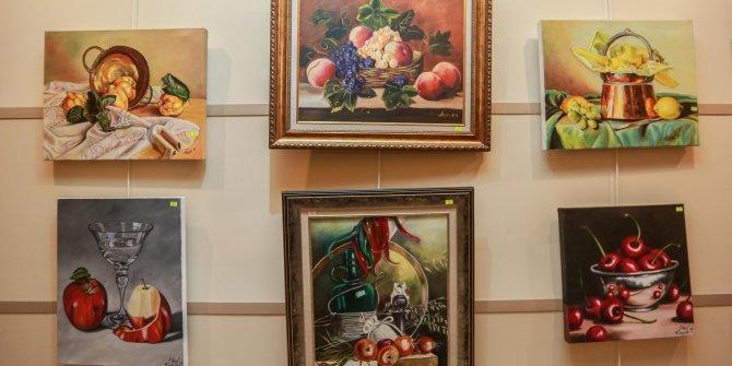 Yenimahalle'de yağlı boya resim sergisi açıldı