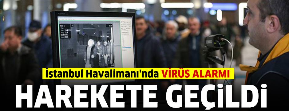 İstanbul Havalimanı'nda virüs alarmı: Harekete geçildi
