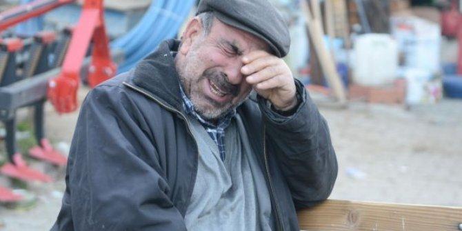 Elazığ'da deprem sonrası acı fotoğraf