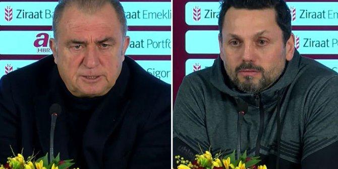 Galatasaray - Aytemiz Alanyaspor maçının ardından