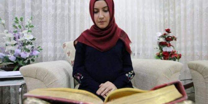 Yüzde 97 engelli: Kur'an aşkıyla hafız oldu, kitap yazdı