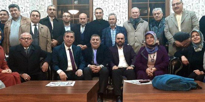 Mamak Kırşehirliler Derneği Başkanı Kani Araz öncülüğünde Ahi pilav buluşması