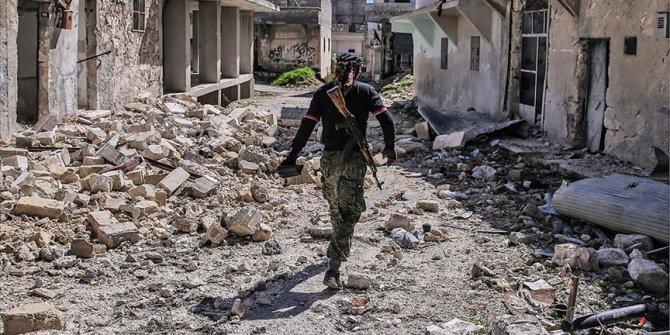 İdlib'de Esed rejimine terör örgütü YPG/PKK da destek veriyor