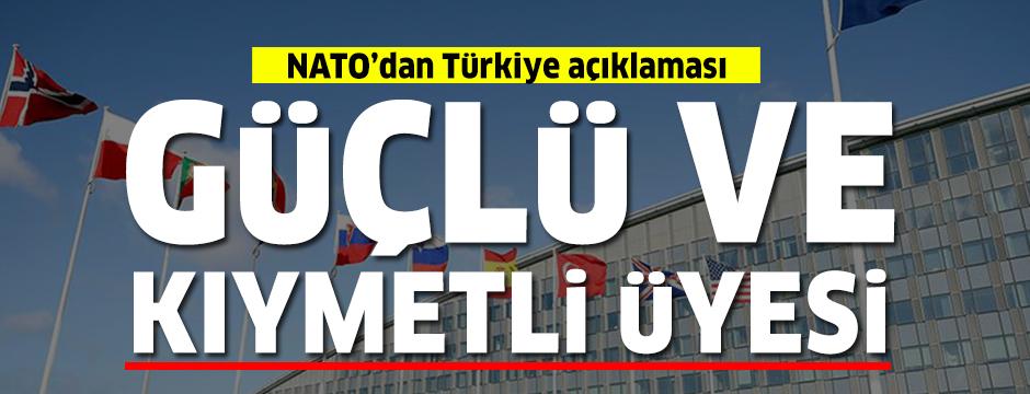toltenberg: Türkiye NATO'nun güçlü ve kıymetli üyesi olmaya devam edecek