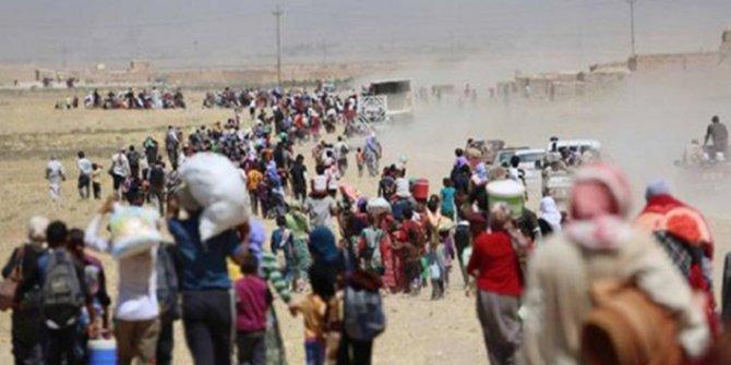 148 bin sivil daha Türkiye sınırı yakınlarına göç etti