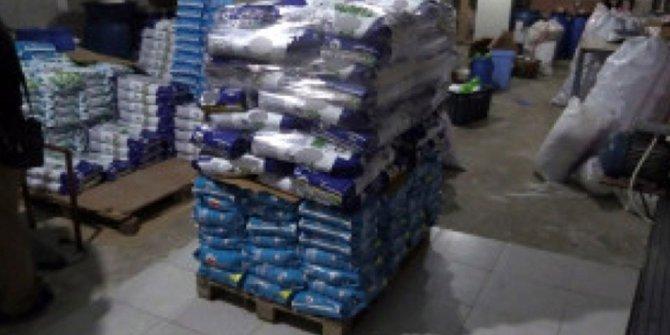 Ankara'da 8 ton temizlik malzemesi ele geçirildi