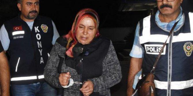 Konya'da 28 yıllık kocasını keserle öldürdü
