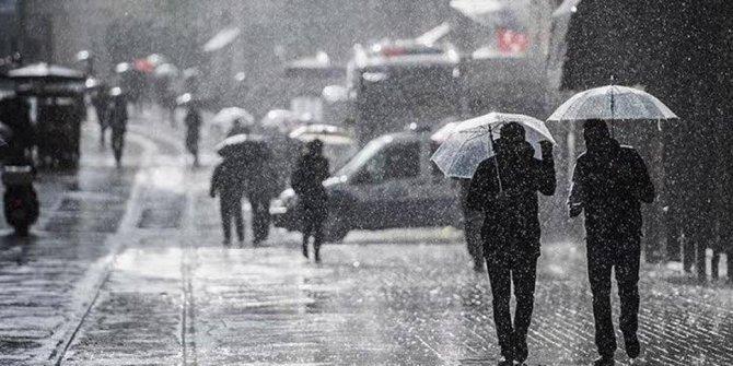 Meteoroloji'den soğuk ve sağanak yağış uyarısı