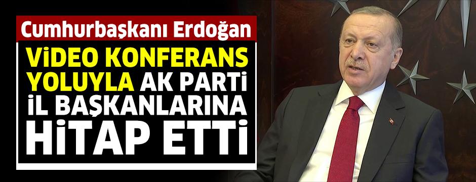 Cumhurbaşkanı Erdoğan İl Başkanları toplantısında konuştu.