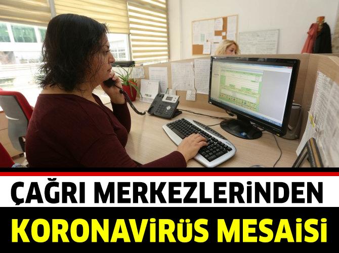 Yenimahalle'nin çağrı merkezinde korona virüs mesaisi