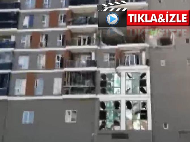 İstanbul Esenyurt'ta bir binada patlama meydana geldi