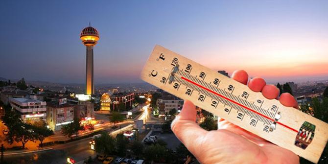 Ankara hava durumu 25 Ocak 2021