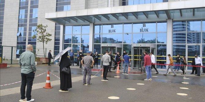 Anadolu Adalet Sarayı normalleşme sürecine sıkı tedbirlerle başladı