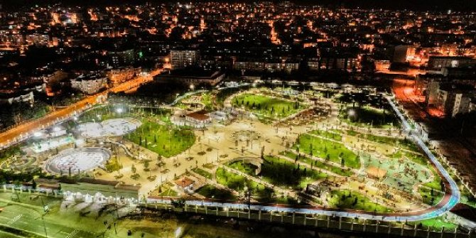 Anadolu'nun en büyük 'Millet Bahçesi' yarın açılıyor