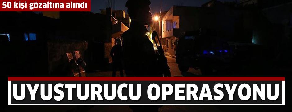 Bursa'da 'Şehit Erman Özcan' uyuşturucu operasyonunda 50 kişi gözaltına alındı