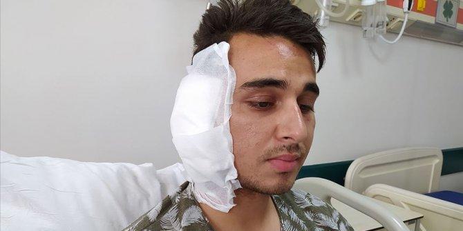 Karaman'da postacının kulağını ısırdığı iddia edilen şüpheli itiraz üzerine tutuklandı