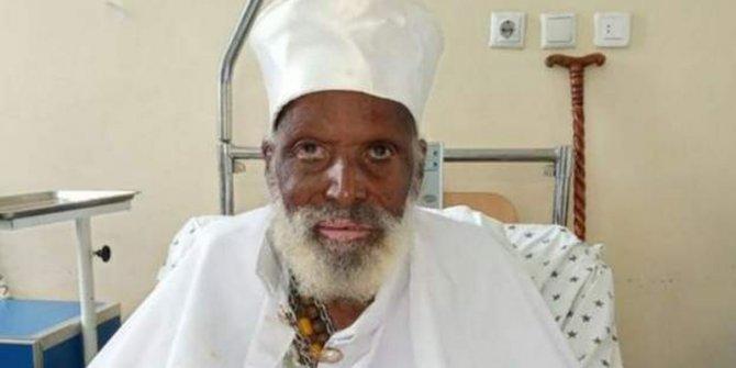 Etiyopya'da 100 yaşın üzerindeki adam Covid-19'u atlattı