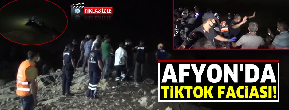 Afyon'da TikTok faciası
