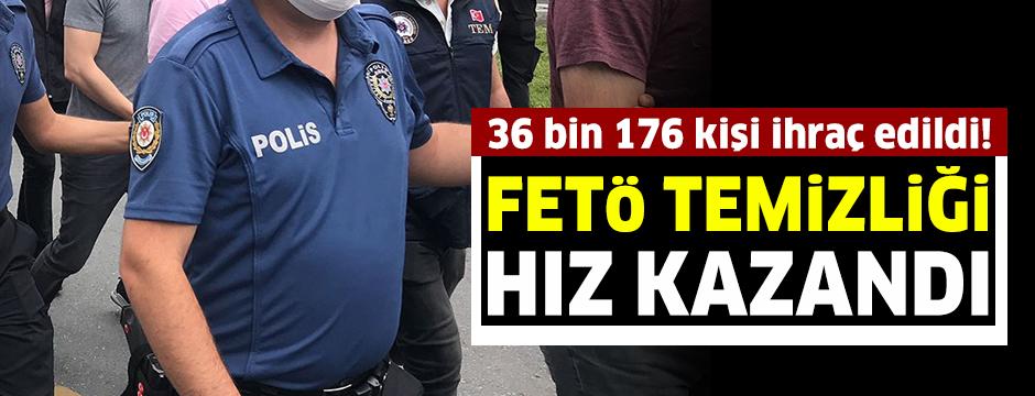 FETÖ ile iltisaklı oldukları gerekçesiyle emniyet ve jandarmadan 36 bin 176 kişi ihraç edildi