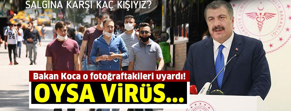 Bakan Koca: Virüs yan yana yürürken geçebilir
