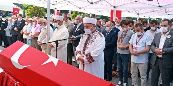 Samsun'da şehit polis memuru için tören