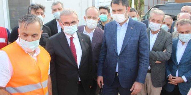 Bakan Kurum: Terör örgütünün Diyarbakır'a verdiği zararı hızlı bir şekilde gideriyoruz