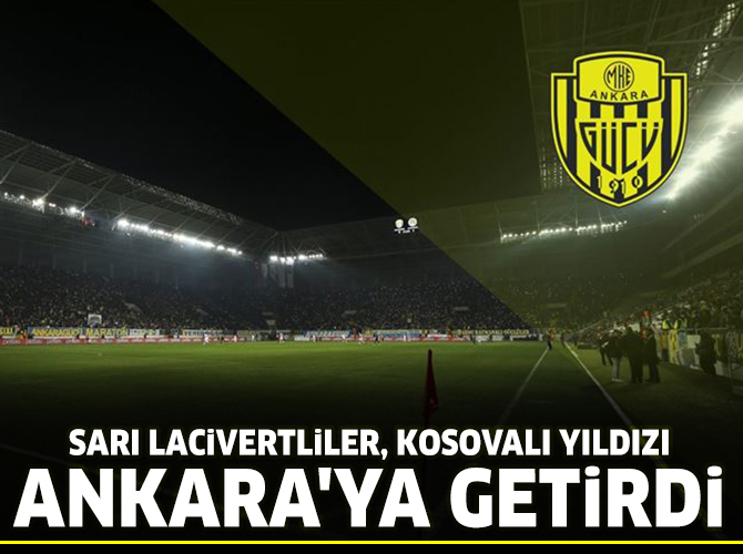 MKE Ankaragücü'ne Kosovalı orta saha