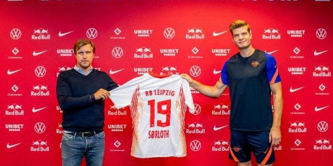 RB Leipzig, Sörloth'u açıkladı
