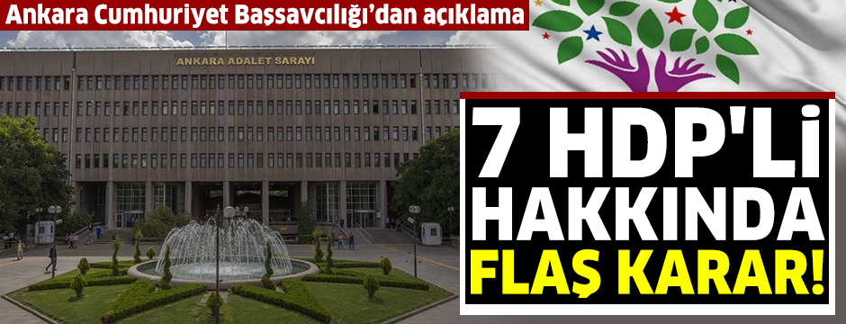 Ankara Cumhuriyet Başsavcılığı'ndan flaş açıklama