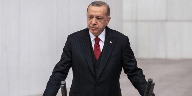 Cumhurbaşkanı Erdoğan Yasama Yılı'nın açılışında konuştu