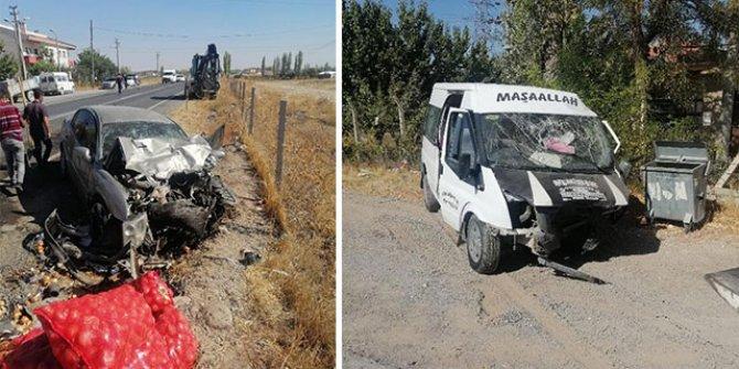 Niğde'de zincirleme kaza: 1 ölü, 7 yaralı