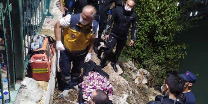 Mersin'de, Göksu ırmağına atlayan kişi öldü