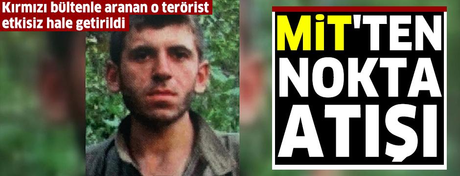 PKK'nın istihbarat sorumlusu öldürüldü: MİT'ten nokta atışı