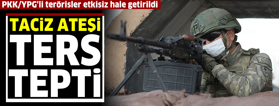 MSB: 9 PKK/YPG'li terörist etkisiz hale getirildi