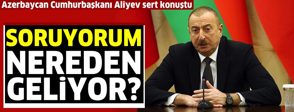 Azerbaycan Cumhurbaşkanı Aliyev: Ateşkes isteyenler Ermenistan'a silahlar gönderiyor