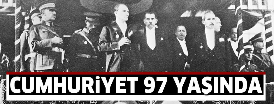 Cumhuriyet 97 yaşında