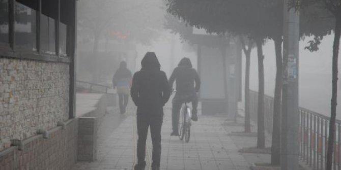 Düzce'de sis etkili oldu